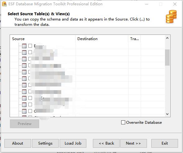 《ESF Database Convert  跨数据库转换工具》